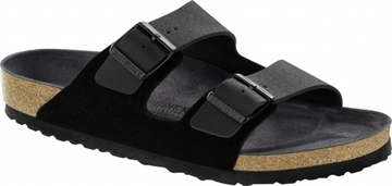 Birkenstock Arizona Black Leather / Asphalt Black