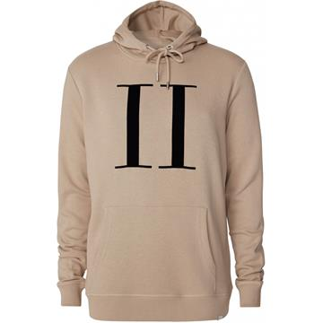 Les Deux Encore Light hoodie - Dark Sand/Black