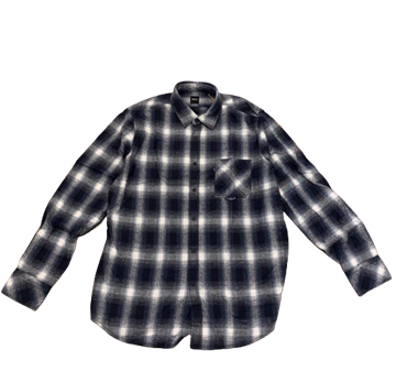 BOSS Casual Riou shirt - Dark Blue