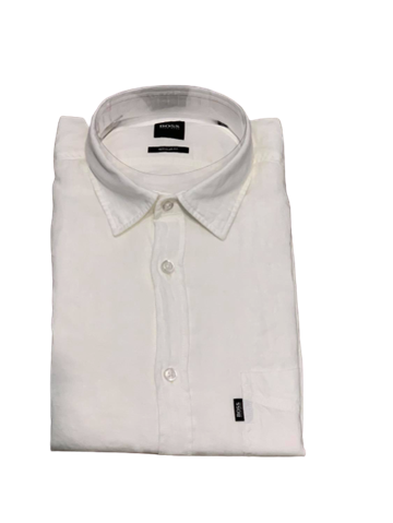 BOSS Casual Relegant casual shirt - White