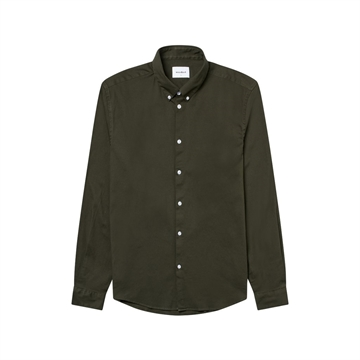 Woodbird Trime L/S shirt - Green