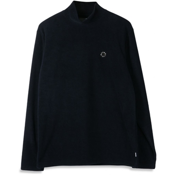 Woodbird Traki Turtleneck - Navy