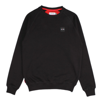 Le Fix Patch crewneck - Black