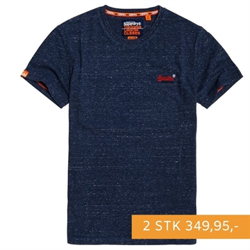 Superdry OL Vintage Embroidery T-shirt - Creek Navy Heather