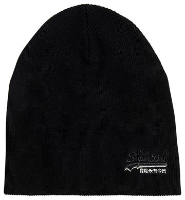Superdry Orange Label Beanie - Black