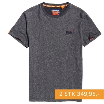 Superdry OL Vintage Embroidery T-shirt - Bassalt Grey Twill