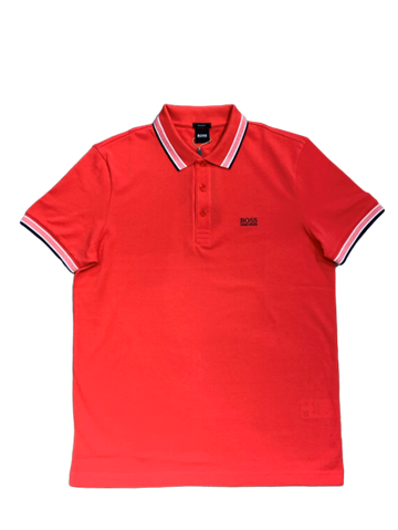 BOSS Athleisure Paddy Polo - Bright Red