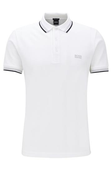 BOSS Athleisure Paddy Polo - White