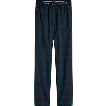 Tommy Hilfiger Flannel Check Pant - Navy Blazer