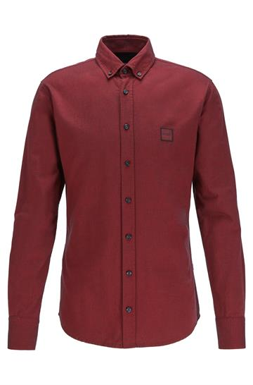 BOSS Casual Mabsoot Skjorte - Medium Red