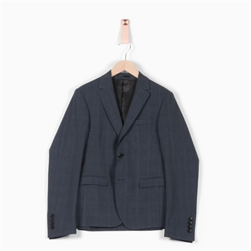 Formél Kai Check Blazer - Blue Check