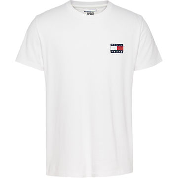 Tommy Jeans TJM Tommy Badge tee - White