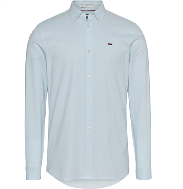 Tommy Jeans TJM stretch Oxford shirt - Antarctic Blue