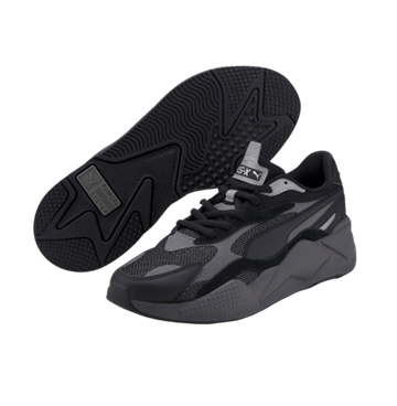 Puma RS-X Pussle Sneakers - Black/Grey
