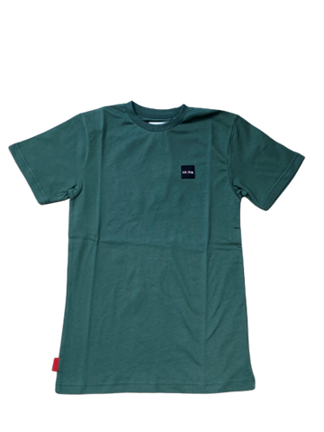Le fix Patch tee - Bottle Green