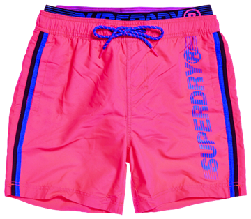 Superdry State Volley swimshorts - Cuba Coral