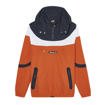 Ellesse Romelo OH jacket - Dark Orange