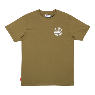 Le Fix Ahead Wolf tee - Army