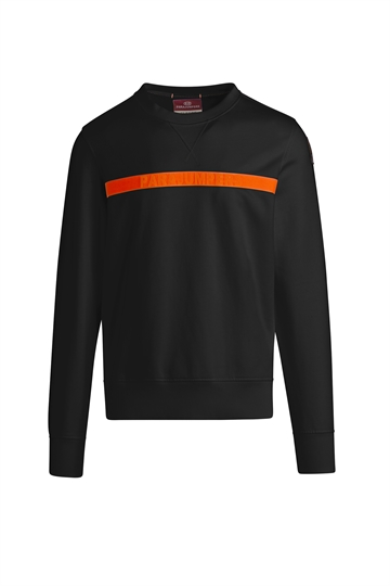 Parajumpers Armstrong SpaceFleece Crewneck - Black