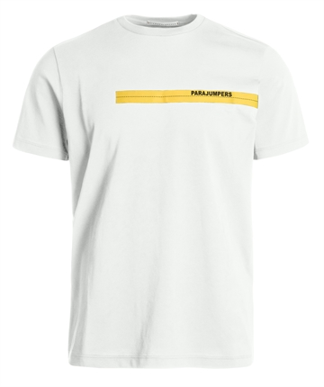 Parajumpers Tape tee - Off White