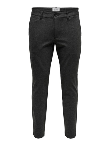 Only & Sons Mark Pants - Dark Grey Melange