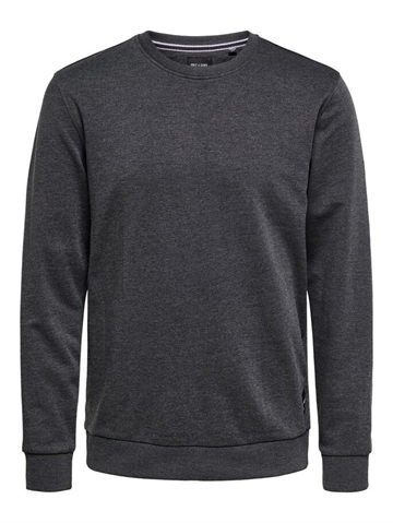 Only & Sons Winston crewneck sweat - Black