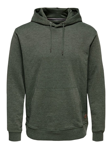 Only & Sons Winston Sweat hoodie - Forest night