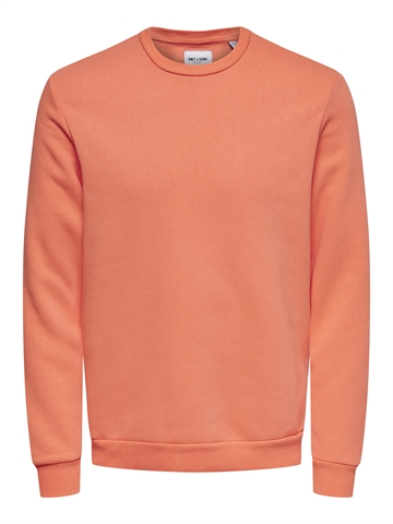 ONLY & SONS Ceres Life crewneck - Camellia