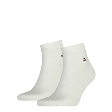 Tommy Hilfiger men Quarter socks 2-pack - white