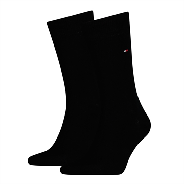 Tommy Hilfiger Men Sock Classic 2 Pack - Black