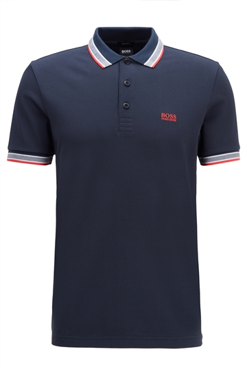 BOSS Athleisure Paddy Polo - Navy