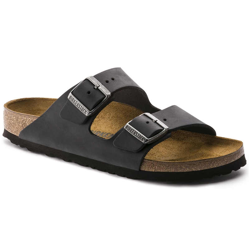 Birkenstock Arizona - Olied Leather Black