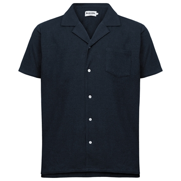 Resteröds Resort Terry shirt - Navy