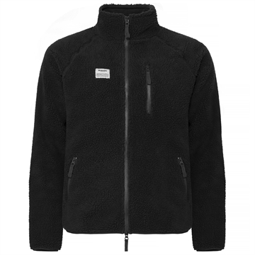 Resteröds Zip Fleece jacket - Black