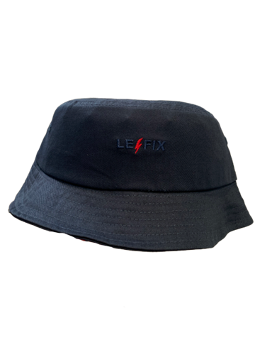 Le Fix Bucket Hat - Navy