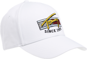 Tommy Jeans TJM Colour logo cap - White
