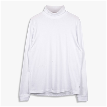 Woodbird Amin Turtleneck - White