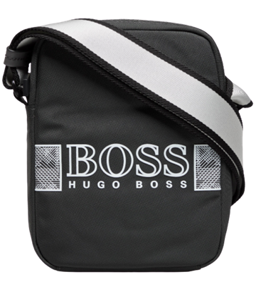 BOSS Pixel O_NS zip skuldertaske - Black