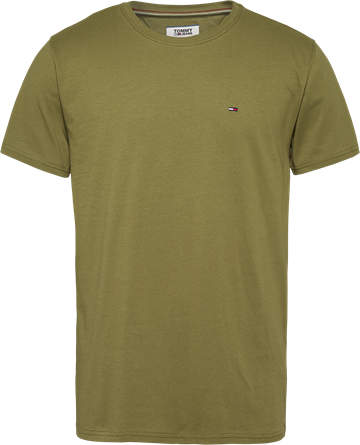 Tommy Jeans TJM Essential Solid t-shirt - Uniform Olive