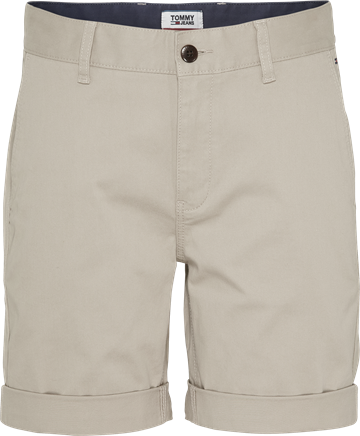 Tommy Jeans TJM Essential Chino shorts - Stone