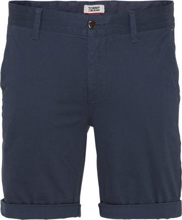 Tommy Jeans TJM Essential Chino shorts - Black Iris