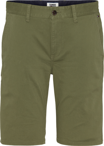 Tommy Jeans TJM Essential Chino shorts - Uniform Olive