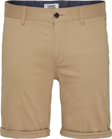 Tommy Jeans TJM Essential Chino shorts - Classic Khaki