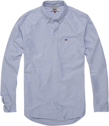 Tommy Jeans TJM Tommy Classics Ithaca shirt - Light blue