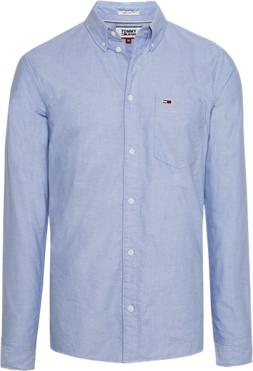 Tommy Jeans TJM Classic oxford shirt - Light blue