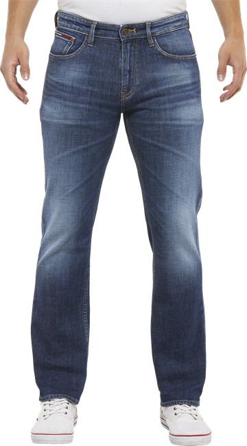 Tommy Jeans TJM Original Straight Ryan Jeans - ELK Dark Blue