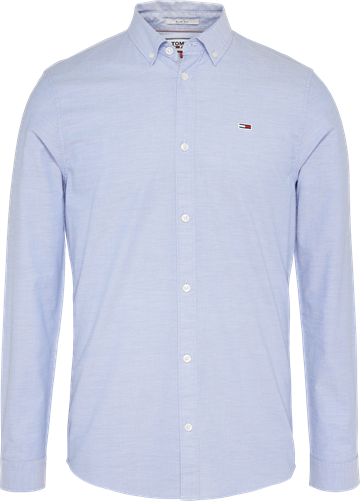 Tommy Jeans TJM stretch oxford shirt - Light Blue
