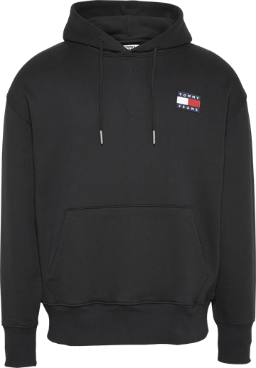 Tommy Jeans TJM Badge hoodie - Black