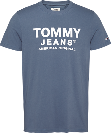 Tommy Jeans TJM Essential Front Logo Tee - Faded Ink