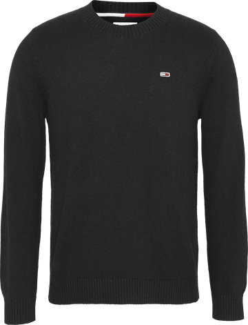 Tommy Jeans TJM Light Blens Crew Sweater - Black